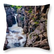 Temperance River Gorge Throw Pillow