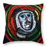 Tempest Of The Damned Throw Pillow