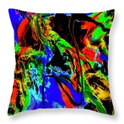 Tempest Of The Storm Throw Pillow