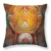 Temple #1 Throw Pillow