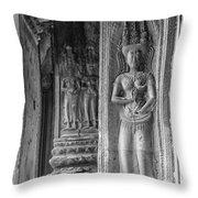 Temple Goddess Throw Pillow