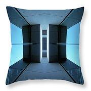 Temple Of Light Throw Pillow