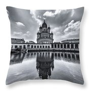Temple Of Reflction Throw Pillow