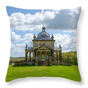 Temple Of The Four Winds Throw Pillow