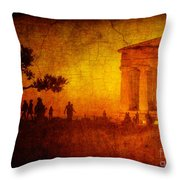 Temple Throw Pillow