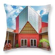 Temple Sinai  Throw Pillow