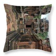 Temples Siem Reap Cambodia Worship  Throw Pillow