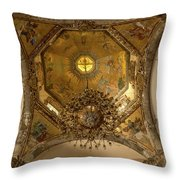Templo Expiatorio A Cristo Rey - Mexico City II Throw Pillow