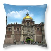 Templo Expiatorio A Cristo Rey - Mexico City Throw Pillow