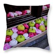 Temptation Of Eve Throw Pillow