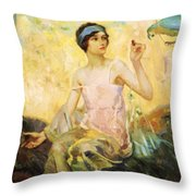 Tempting Sweets 1924 Throw Pillow