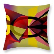Tempus Fugit II Throw Pillow