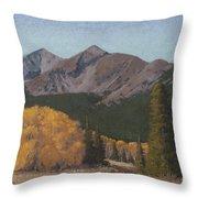 Ten Mile Autumn Throw Pillow