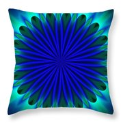 ten minute art 102610B Throw Pillow