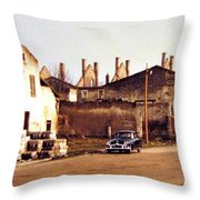 Ten Years After The Bombs 1955 Throw Pillow