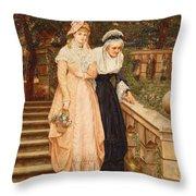 Tender Care Throw Pillow