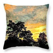 Tender Is The Night 2 Throw Pillow