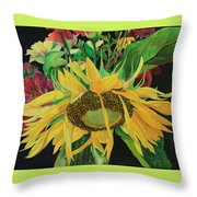 Tender Mercies Throw Pillow by Jane Autry