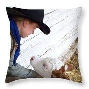 Tender Moment Throw Pillow