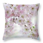 Tender Spring Pastels Throw Pillow