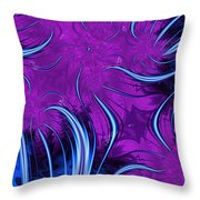 Tendrils Through The Mists Of Time Throw Pillow