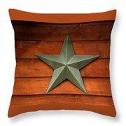 Tenkiller Lone Star Throw Pillow