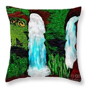 Tenn. State Falls Se Throw Pillow