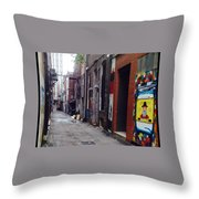 Tennessee Alley Throw Pillow by Joyce Kimble Smith