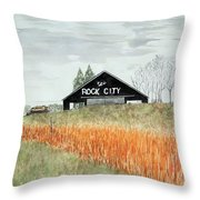 Tennessee Destination Throw Pillow