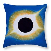 Tennessee Eclipse Throw Pillow