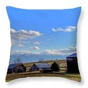 Tennessee Farm Throw Pillow