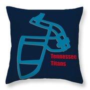 Tennessee Titans Retro Throw Pillow