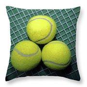 Tennis Anyone Throw Pillow
