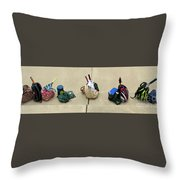 Tennis Banner Throw Pillow