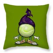 Tennis Wiz Throw Pillow