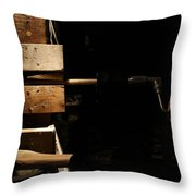 Tenon Cutter Throw Pillow