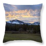Tensed Dawn Throw Pillow