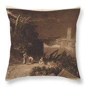 Tenth Plague Of Egypt Throw Pillow