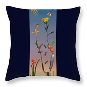 Tenuous Still-life 3 Throw Pillow