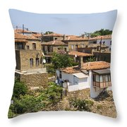 Tepekoy Village Throw Pillow
