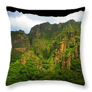 Tepozteco Throw Pillow