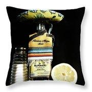 Tequila De Mexico Throw Pillow