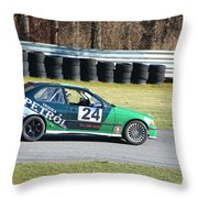 Tequila Petrol 24  Throw Pillow