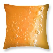 Tequila Sunrise Background Throw Pillow