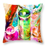 Tequila Sunrise Throw Pillow
