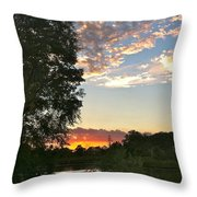 Tequila Sunset Throw Pillow