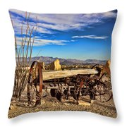 Terlingua Ghost Town 2 Throw Pillow