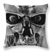Terminator Throw Pillow