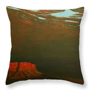 Terra Rosa Throw Pillow