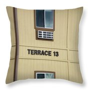 Terrace 13 Ithaca College New York Signage Throw Pillow